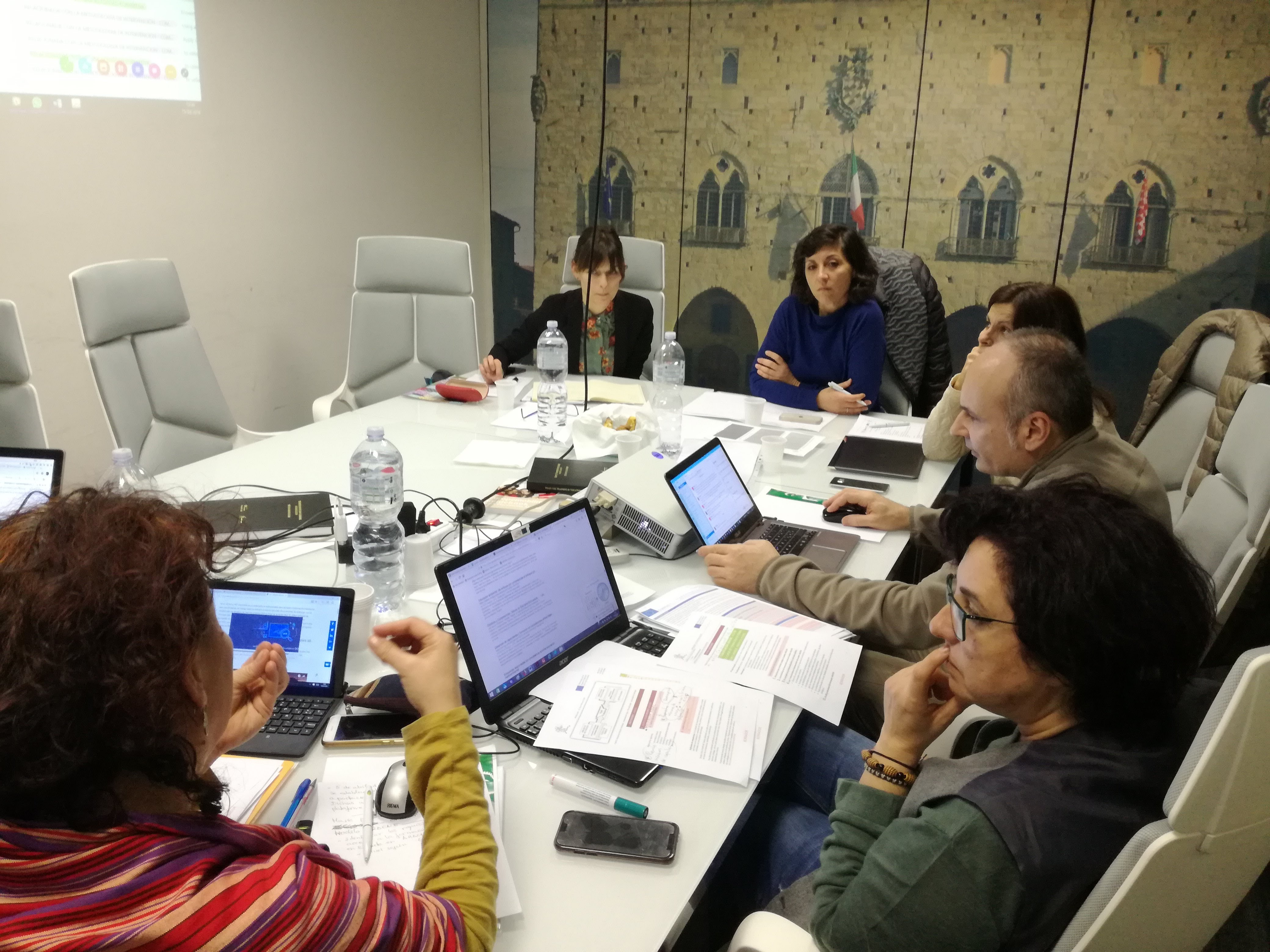 Giovanni Crisonà participated in the ARACNE+ project meeting the last 15th and 16th of March