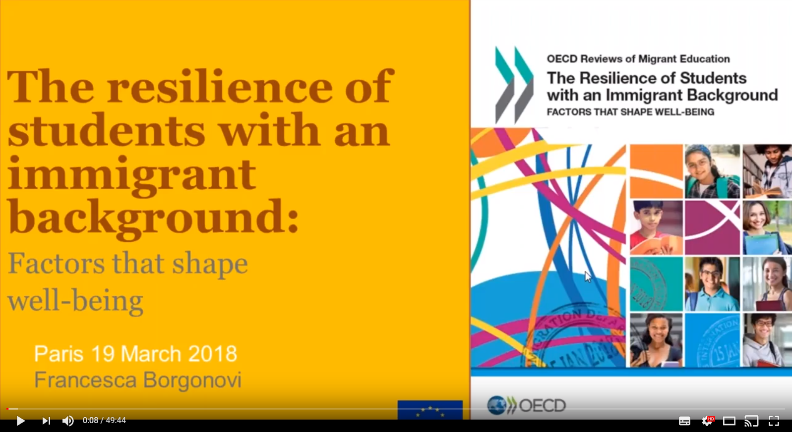 The Resilience of Students with an Immigrant Background – Factors that Shape Well being – OECD